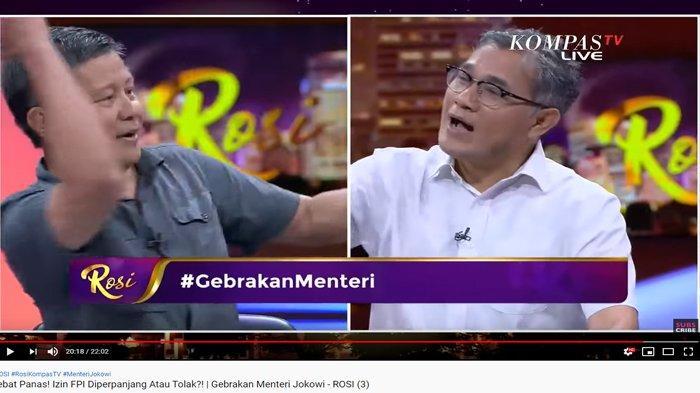 Rocky Gerung Klaim FPI Tak Lakukan Kekerasan, Budiman Sudjatmiko Ungkit Penyiraman Guru Besar UI