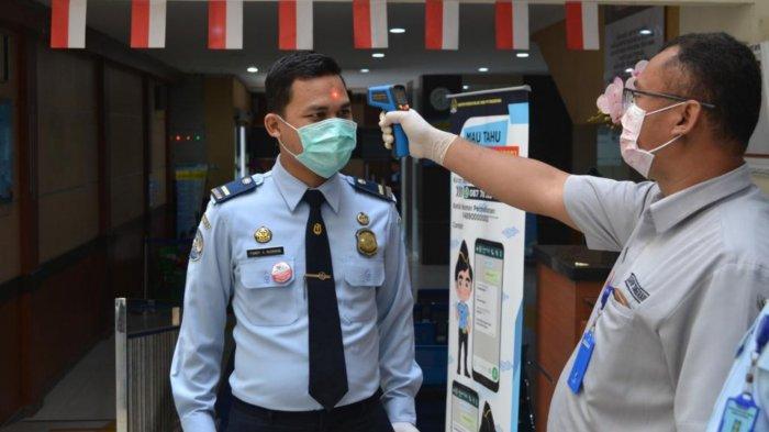 Imigrasi Tangerang Tetap Buka, Maksimalkan Social Distancing hingga Pemeriksaan Suhu Tubuh