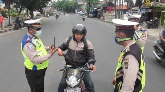 Kerahkan 162 Personel, Sudinhub Jakarta Selatan Kawal PSBB di Tiga Titik Perbatasan