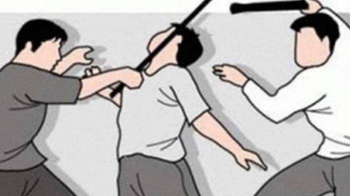 BREAKING NEWS Terekam CCTV, Seorang Pria Dikeroyok hingga Tewas di Trotoar Melawai