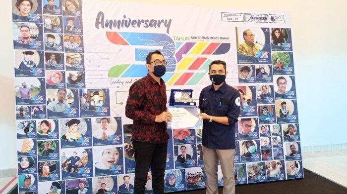 Universitas Mercu Buana Beri Penghargaan Kepada Media Online Tribunnews.com