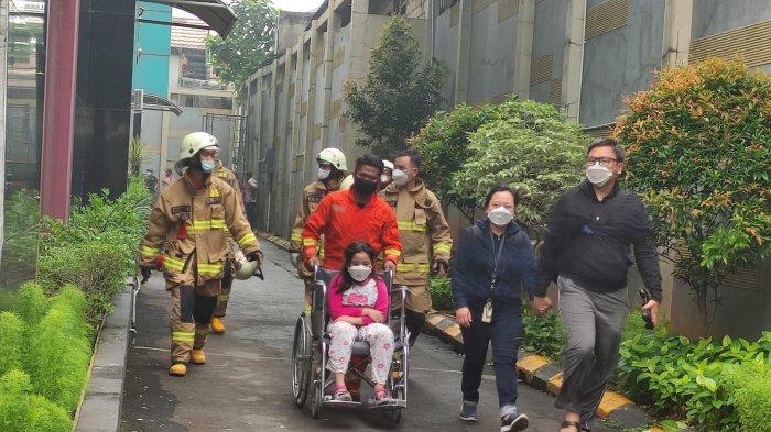 Kebakaran Apartemen Tamansari Sudirman, 92 Penghuni Sudah Dievakuasi