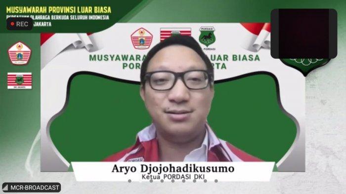 Terpilih Sebagai Ketua Pordasi DKI, Ini Komitmen Aryo Djojohadikusumo