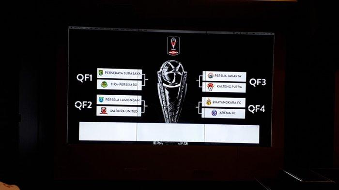 Derby Jawa Timur Tersaji dalam Babak Perempat Final Piala Presiden 2019