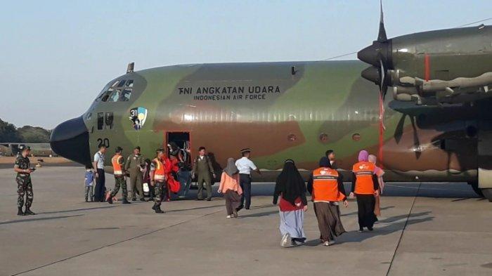 TNI AU Sudah Evakuasi Lebih dari 4.000 Warga dari Wamena