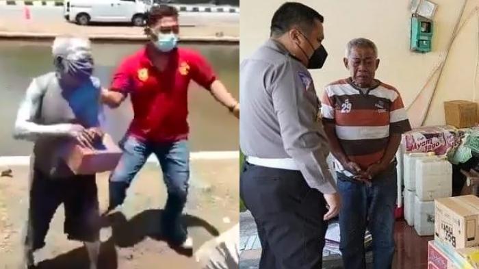 Digelandang Satpol PP, Kisah di Balik Pensiunan Polisi Jadi Manusia Silver, Ini Pangkatnya Terakhir