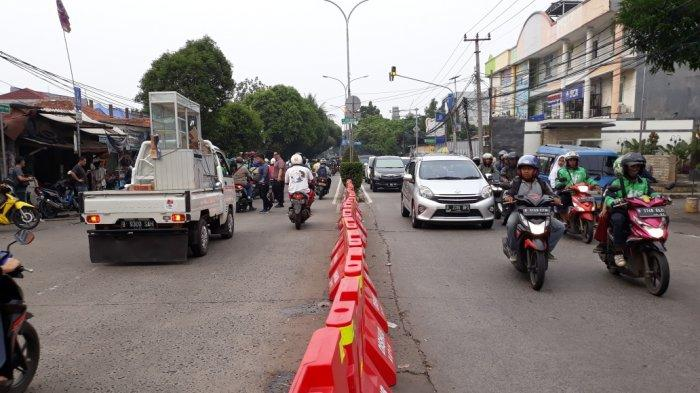 Tutup Tiga Putaran Arah, Dishub Depok Sebut Kemacetan di Jalan Kartini Berkurang