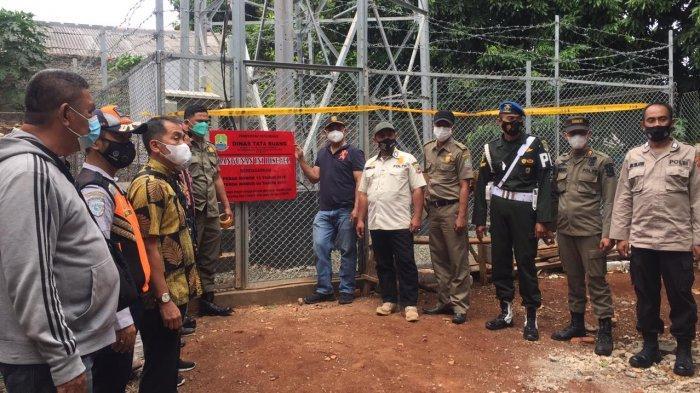 Pemkot Bekasi Segel Bangunan Tower Telekomunikasi Tak Berizin di Pondok Gede