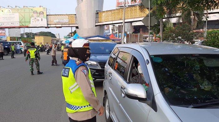 Hari ke-4 Larangan Mudik, 789 Kendaraan Diputar Balik di Pos Penyekatan Kota Bekasi
