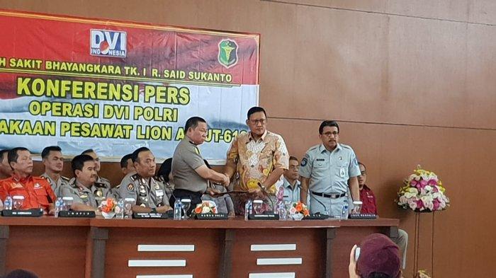Operasi DVI Kecelakaan Lion Air PK-LQP Resmi Ditutup