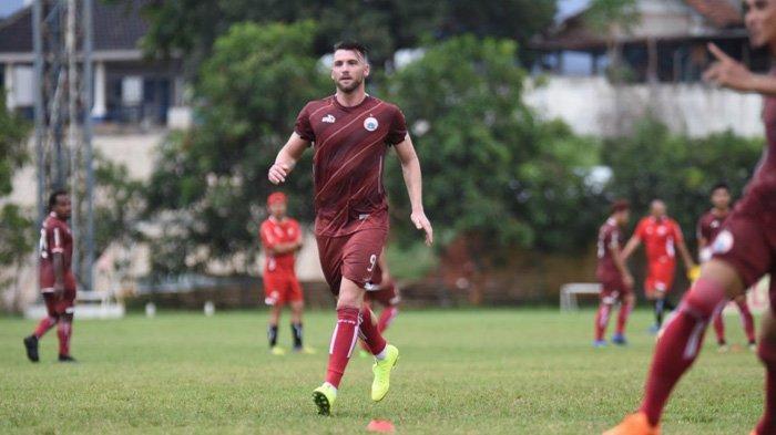 Baru Gabung Latihan Persija Jakarta, Marko Simic Tak Bisa Latihan Secara Maksimal Gara-gara Hal Ini