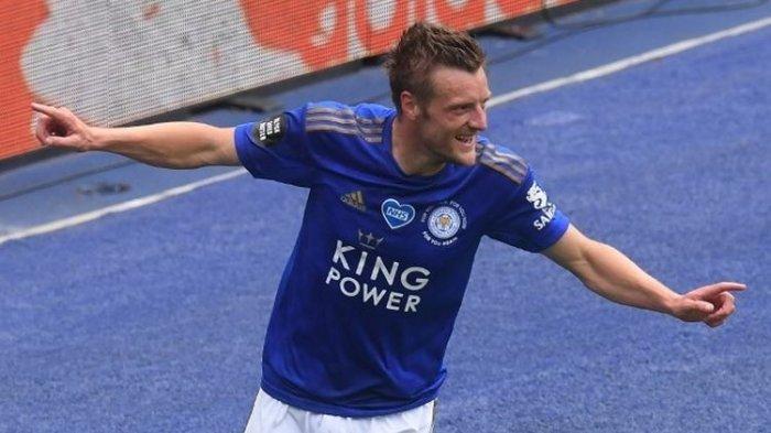 Jamie Vardy Raih Sepatu Emas Liga Inggris, Leicester City Tidak Lolos ke Liga Champions