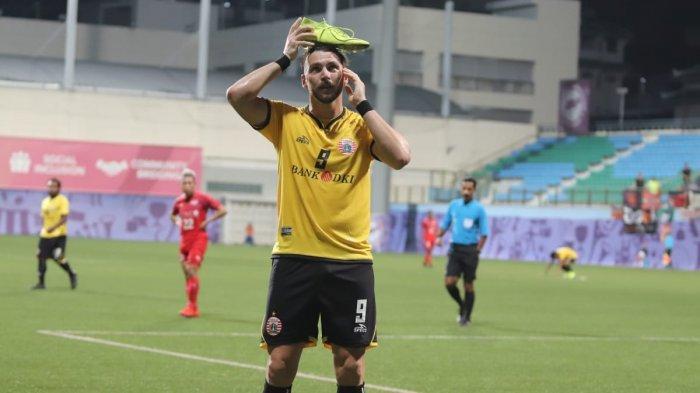 Striker Persija Jakarta Marko Simic Selalu Bersemangat Bila Bertanding di Stadion Ini