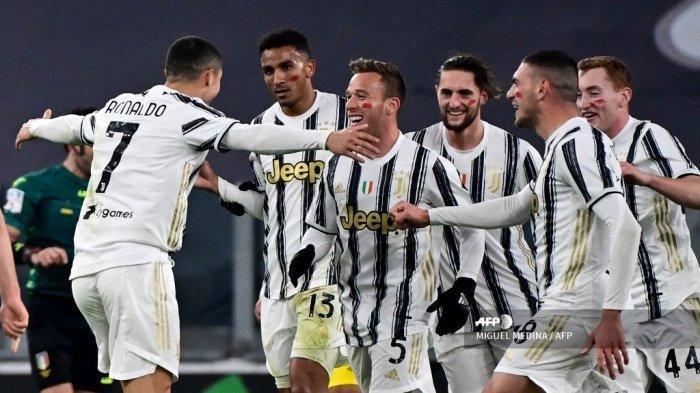 Hasil Liga Italia - Ronaldo Cetak Dua Gol, Juventus Menang 3-0 Atas Crotone