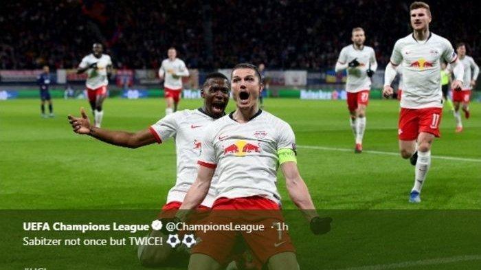 Hasil Liga Champions: RB Leipzig Lolos ke Perempat Final Usai Gasak Tottenham 3-0