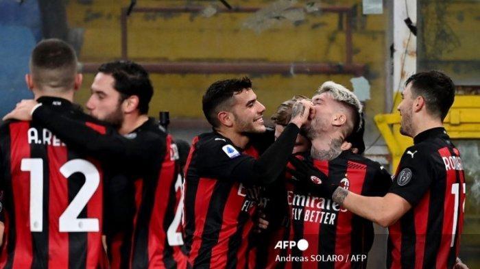AC Milan Pemuncak Sementara Klasemen Liga Italia, Inter Milan dan Atlanta Membuntuti