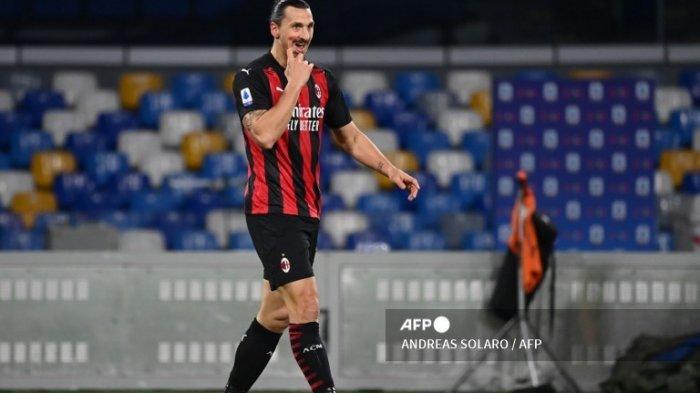 Jelang Fiorentina vs AC Milan, Zlatan Ibrahimovic Siap Diturunkan Sejak Menit Pertama