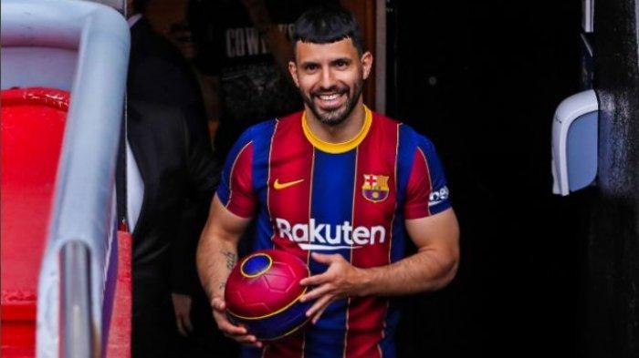 Sergio Aguero Resmi Gabung Barcelona