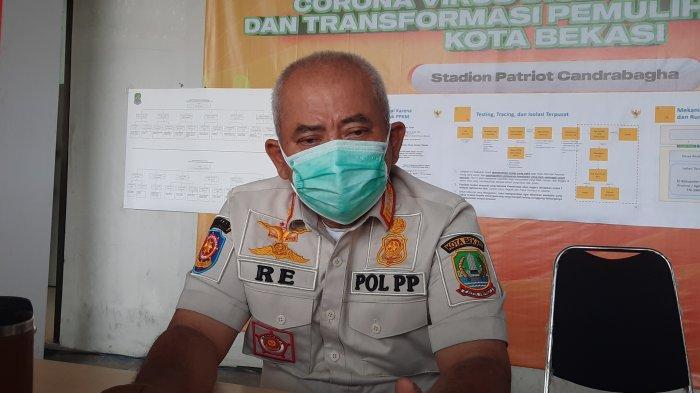 Wali Kota Bekasi Rahmat Effendi di Stadion Patriot Candrabhaga Kota Bekasi, Selasa (10/8/2021).