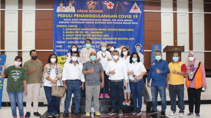Pemkot Bekasi Gelar Serbuan Vaksinasi Massal Serentak di 560 Titik