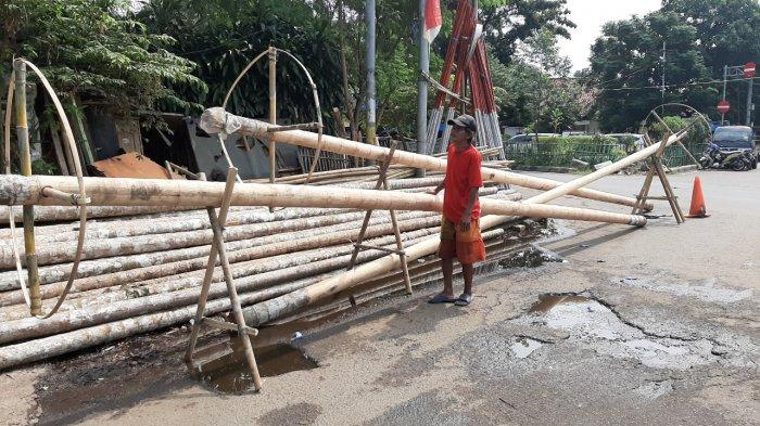 Pandemi Covid-19, Perajin Pohon Pinang di Manggarai Selatan Keluhkan Sepi Pembeli
