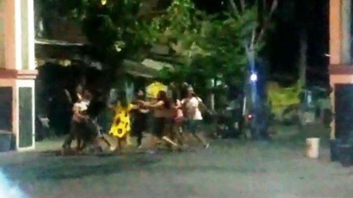 Sejumlah Perempuan di Semarang Tawuran Gegara Asmara, Sebabkan Satu Terluka dan Menginap di Polsek