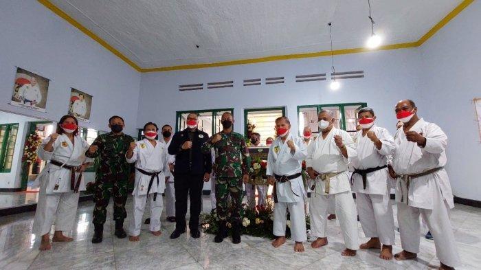 Pangdam Jaya Resmikan Pusat Pelatihan Karate Honbu Dojo Inkai di Jatinegara