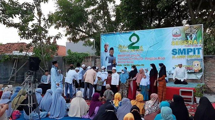 Milad Kedua, Ponpes Wafizs Al-Amin Center Bekasi Gelar Buka Bersama dan Santunan Yatim Dhuafa