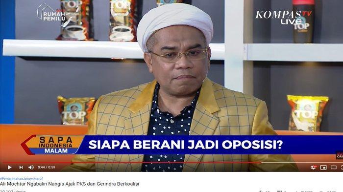 Ajak PKS & Gerindra Berkoalisi dengan Jokowi, Ali Ngabalin Tak Kuat Tahan Tangis Beberkan Alasannya