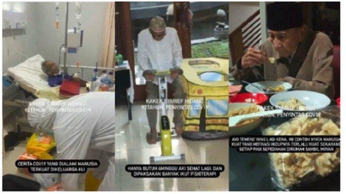 Viral Kisah Kakek Usia 93 Tahun Sembuh dari Covid-19, Sempat Maksa Ingin Pulang saat Kondisi Kritis