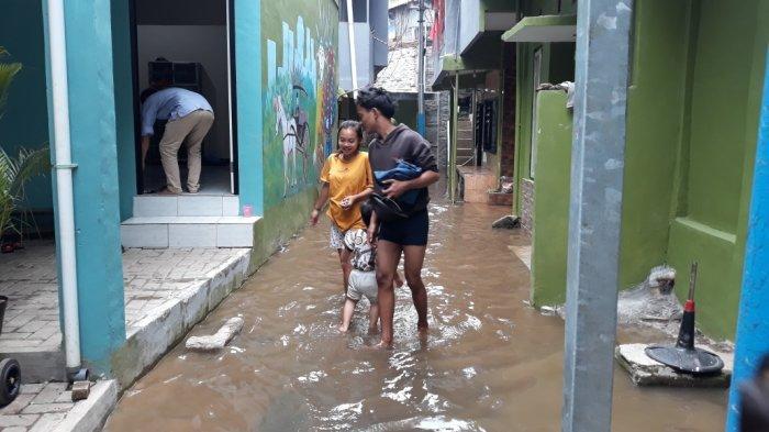 Katulampa Siaga Dua, Warga Kebon Pala Kebanjiran
