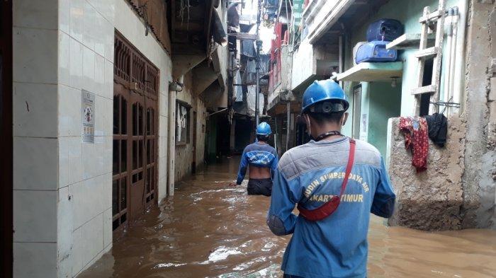 Jakarta Dikepung Banjir, Kepala Dinas Sumber Daya Air DKI: Genangan Surut Kurang dari Sejam
