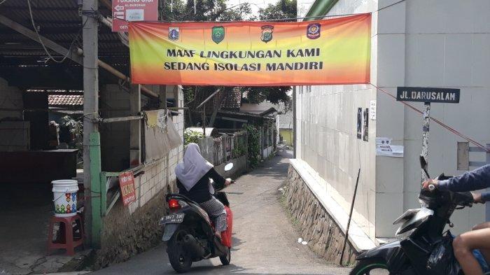 Mikro Lockdown di Cilangkap Belum Dicabut, 7 Warga Masih Menjalani Isolasi