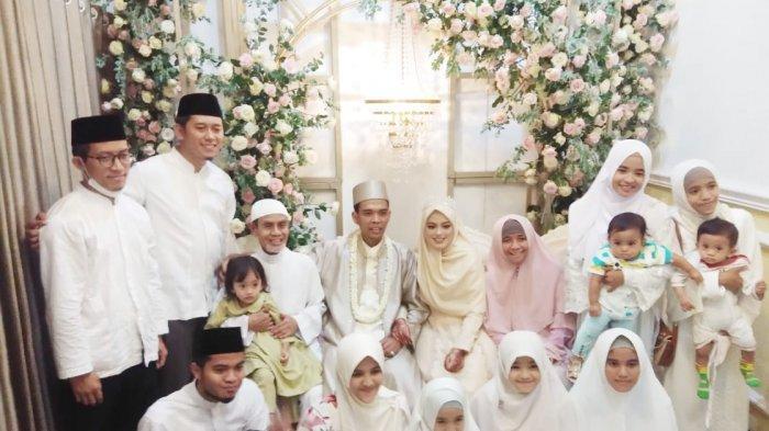 Pernikahan Ustaz Abdul Somad dan Zahra.