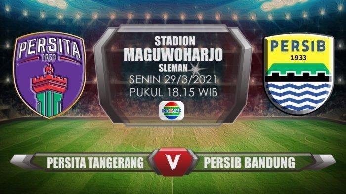 BERLANGSUNG Link Live Streaming Persita Tangerang Vs Persib Bandung Piala Menpora 2021 Malam Ini