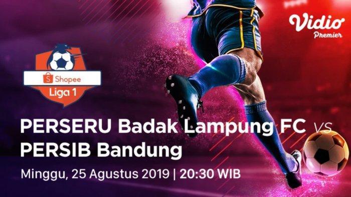 Berlangsung Seru, 1-1 Hasil Akhir Badak Lampung FC vs Persib Bandung Liga 1 2019