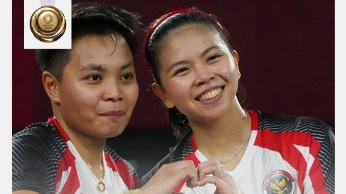 Persija Jakarta ikut mengucapkan selamat atas raihan emas yang didapat Greysia Polii/Apriyani Rahayu setelah mengalahkan wakil China Chen Qing Chen/Jia Yi Fan.