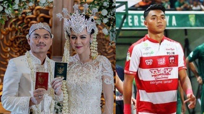 Cinta Kilat Pemain Persija Jakarta Bersama Model Cantik, Kenal 3 Hari Langsung ke Pelaminan
