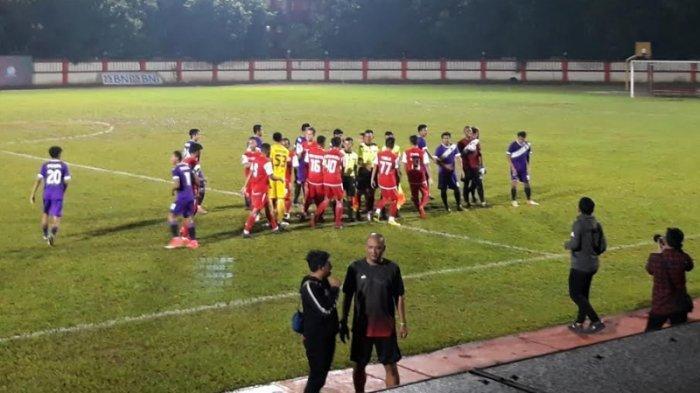 Gelar Pertandingan Uji Coba, Persija Jakarta Ditahan Imbang 1-1 Persita Tangerang