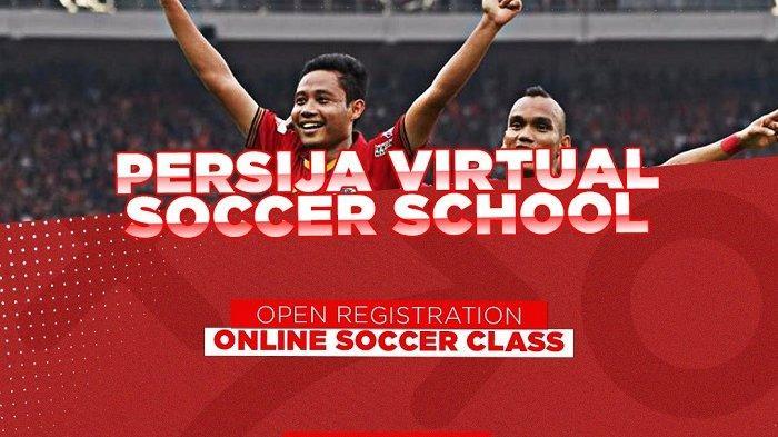 Luncurkan Program Terbaru, 3 Pemain Persija Jakarta Jadi Mentor Pelatihan Sepak Bola Virtual