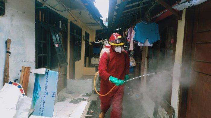 Antisipasi Covid-19, 10.100 Titik Lokasi di Jakarta Timur Telah Disemprot Disinfektan