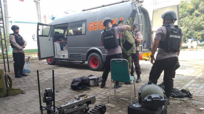 13 Personel Gegana Polda Banten Diterjunkan Amankan Benda Mencurigakan Diduga Bom