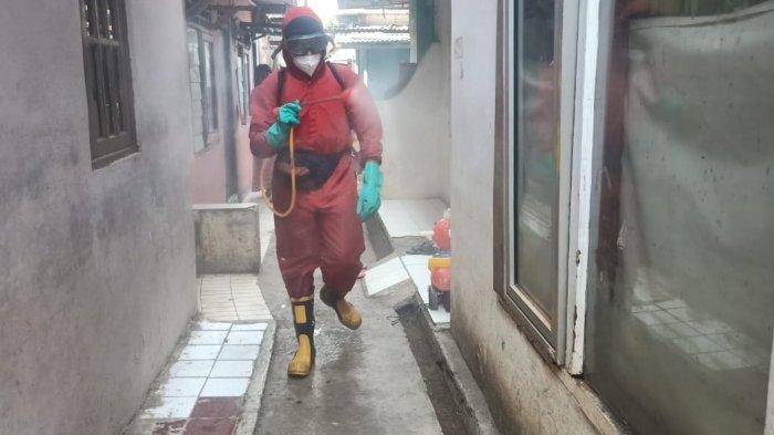 Selama November 2020, Gulkarmat Semprot Disinfektan di 355 Titik Jakarta Barat