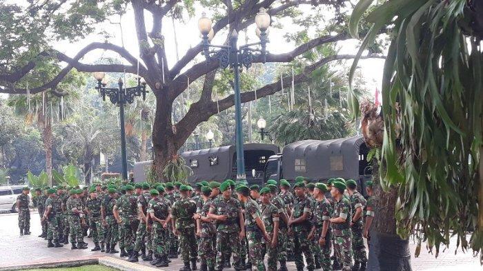 300 Personel TNI Amankan Gedung Balai Kota DKI Jelang Sidang Sengketa Pilpres 2019