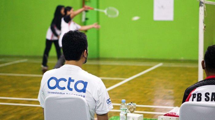 Octa Investama Berjangka Gelar Turnamen Badminton Merdeka Cup