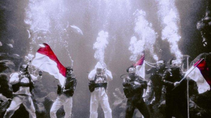 Pertunjukan teatrikal di dalam air bertemakan Semangat Perjuangan dihadirkan di Sea World Ancol untuk memperingati Hari Pahlawan pada 10 November mendatang