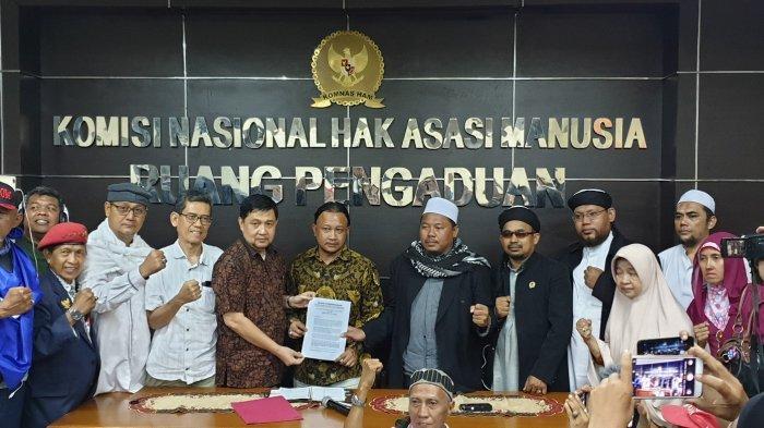 Sambangi Komnas HAM, GNKR Minta Kerusuhan 22 Mei Diusut Tuntas