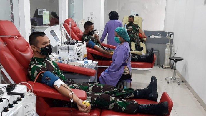 Sembuh Dari Covid-19, Perwira Asal Secapa AD Lakukan Donor Plasma Konvalesen di RSPAD Gatot Subroto