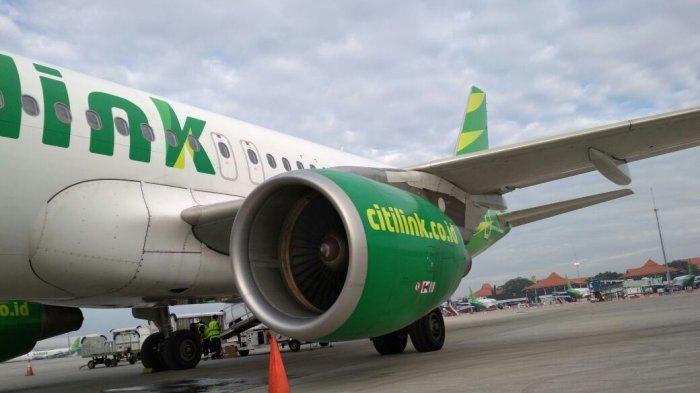Pesawat Citilink yang Sudah Lepas Landas Balik Lagi ke Bandara Soekarno-Hatta Akibat Hal Ini