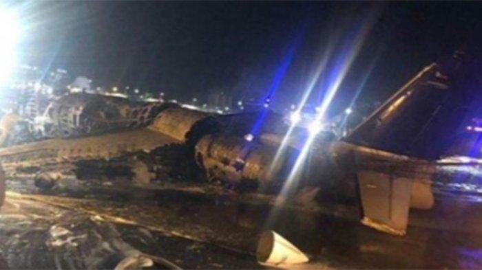 Viral Berita Pesawat Kecelakaan di Tokyo, Manajemen Lion Air: Itu Lionair Filipina